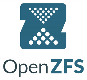 The logo of Open ZFS