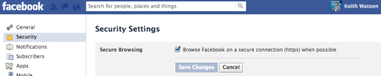 Facebook Security: Facebook Account Settings for Secure Browsing