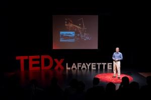 Presenting at TEDxLafayette 2014