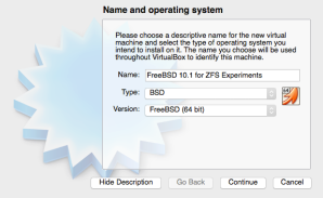 FreeBSD VM, 64-bit
